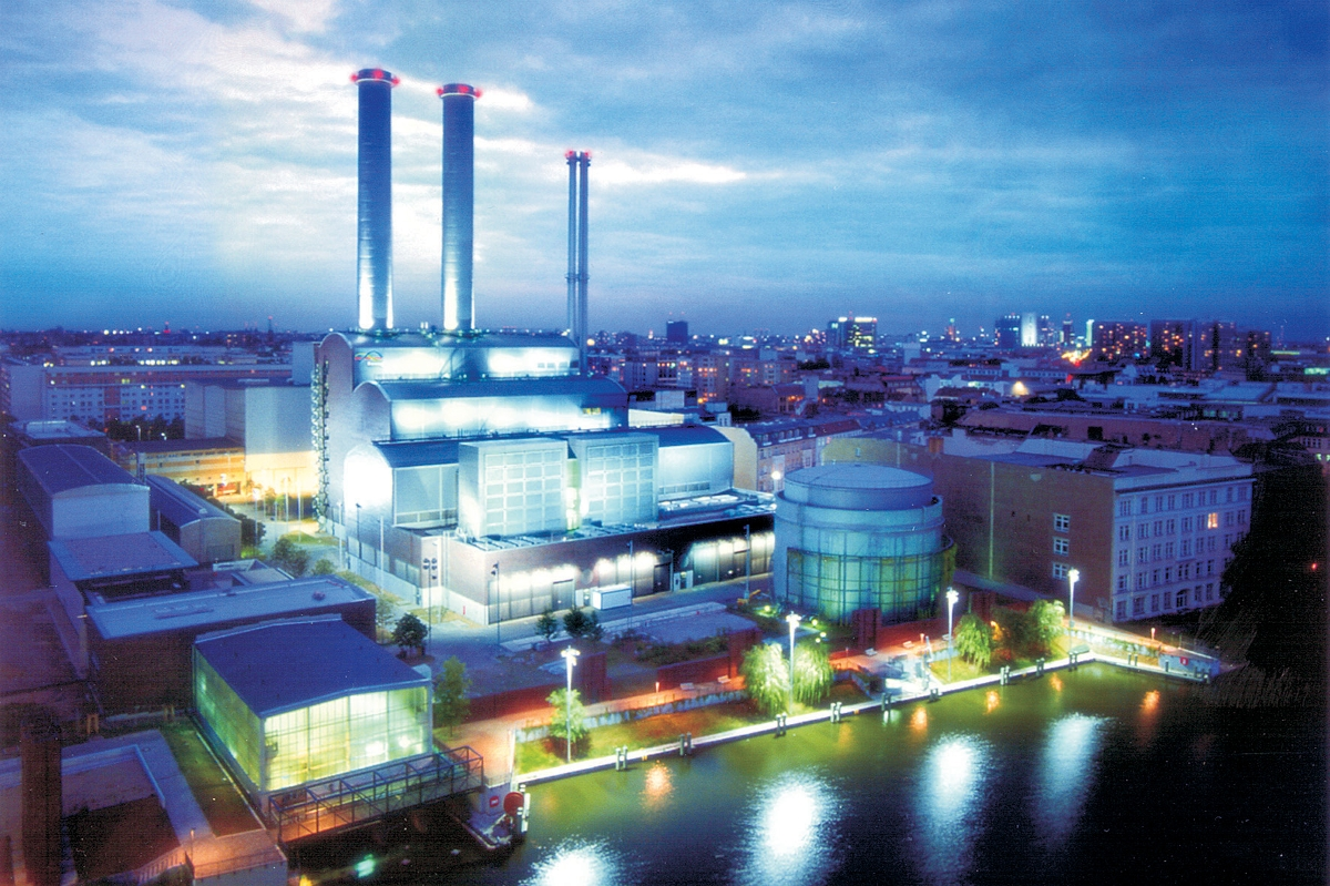 Mitte CHP Plant – combining heat and power