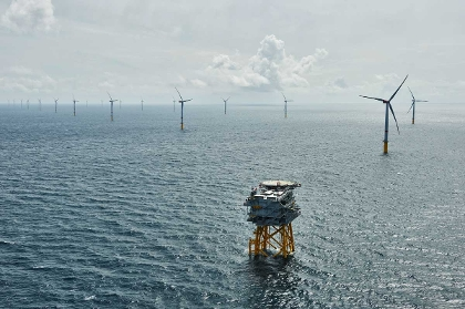 Offshore wind farm Sandbank